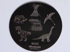 Winstonia stamping plate W220