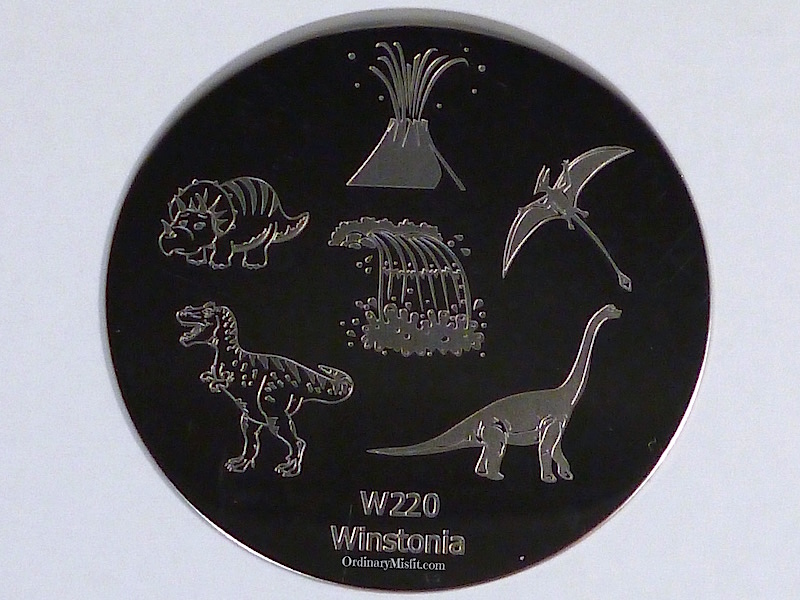 Winstonia stamping plate W220
