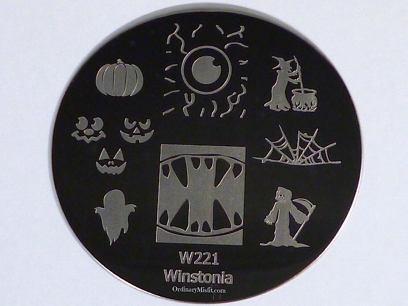 Winstonia stamping plate W221