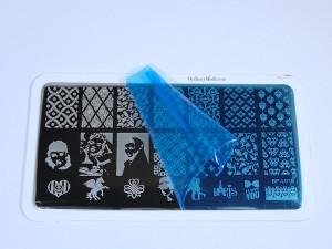 Born Pretty Store Stamping PLate BP L016