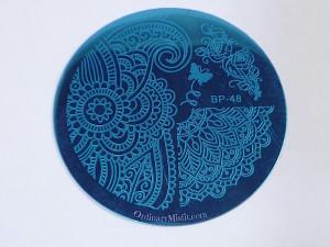 Born Pretty Store plate BP-48