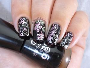 Born Pretty Store plate revview BP-56 nail art