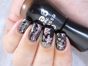 Born Pretty Store plate revview BP-56 nail art