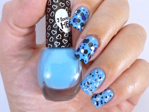 Hean I love Hean collection #810 with nail art