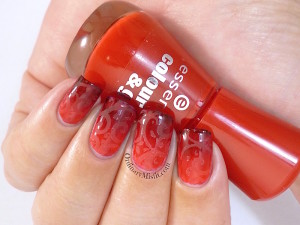 #PPSANailChallenge Red nail art