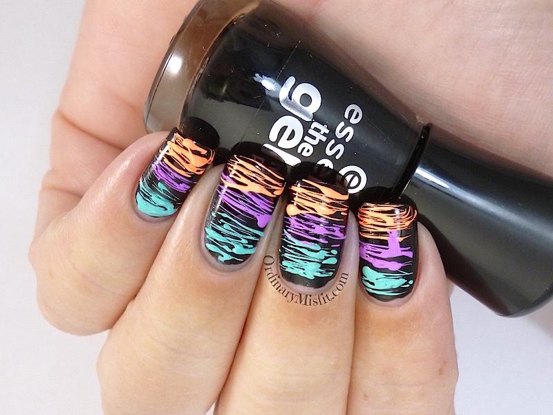 #PPSANailChallenge Sugar spun nail art