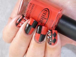 #PPSANailChallenge favourite villian nail art 2