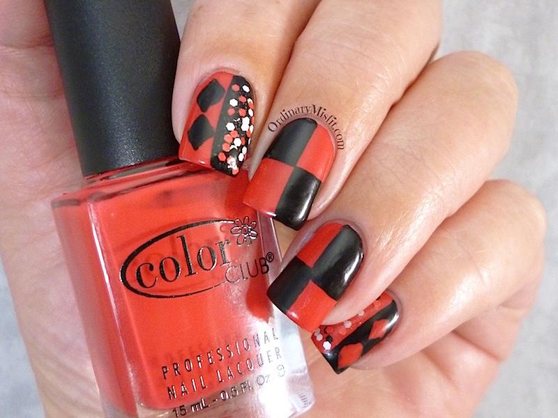 #PPSANailChallenge favourite villian nail art 3