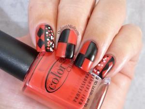 #PPSANailChallenge favourite villian nail art