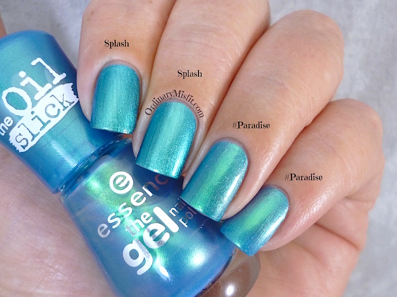 Comparison - Essence - Splash vs Essence - #Paradise