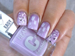 Hean City Fashion #176 with nail art 3