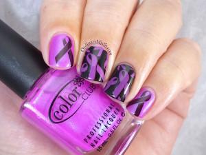 PnP Women's walk stamped nail art