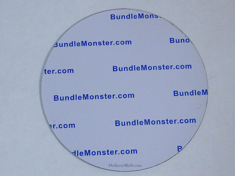 Bundle Monster secret garden stamping plates back
