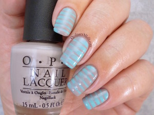 31DC2015 Day 10 gradient nails