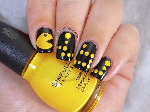 31DC2015 Day 3 Yellow nails