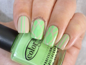 31DC2015 Day 4 Green nails