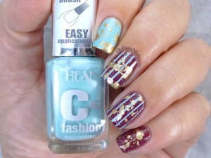 Hean City Fashion #199 and #162 with nail art