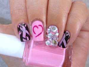Breast cancer awareness Pink October