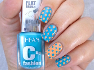 Hean City Fashion #168 and #178 with nail art