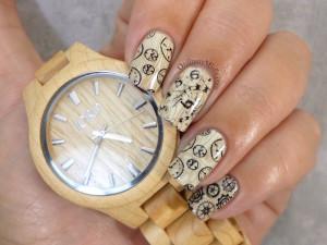 Jord maple fieldcrest watch nail art