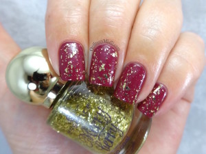 Essence - I love my golden pumps (Over pink & perfect)