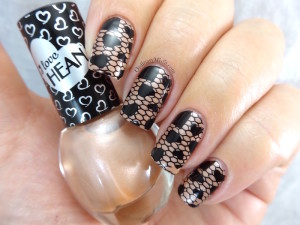 Hean I love Hean collection #429 with nail art
