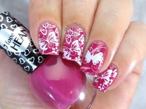 Hean I love Hean collection #437 with nail art