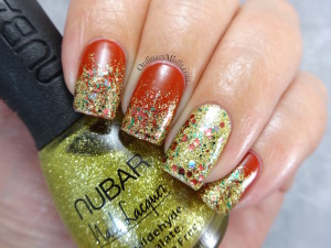NailLinkup Let it sparkle nail art