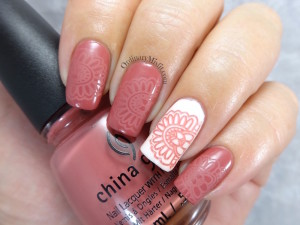 Easy going to fifth avenue nail art