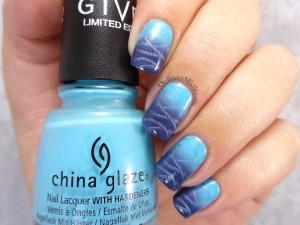 Monday blue(s) gradient