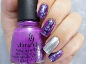 Purple skittlette