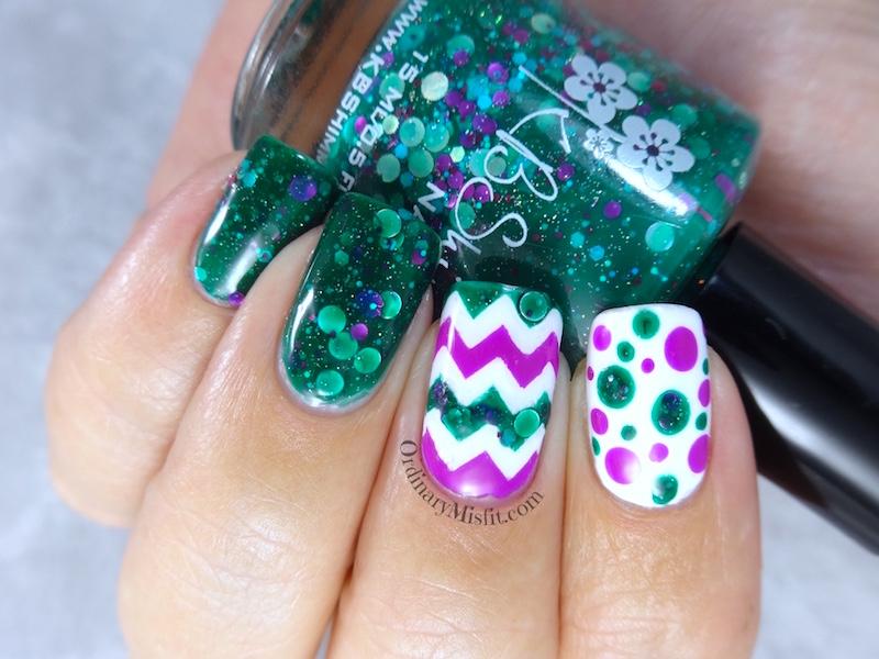 Shocked to sea you around nail art
