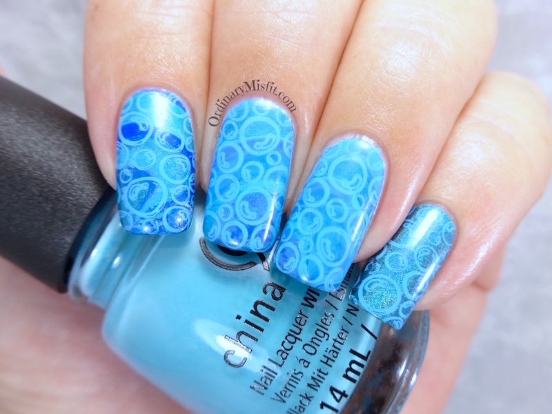 NAILLinkup March - Water inspired nail art