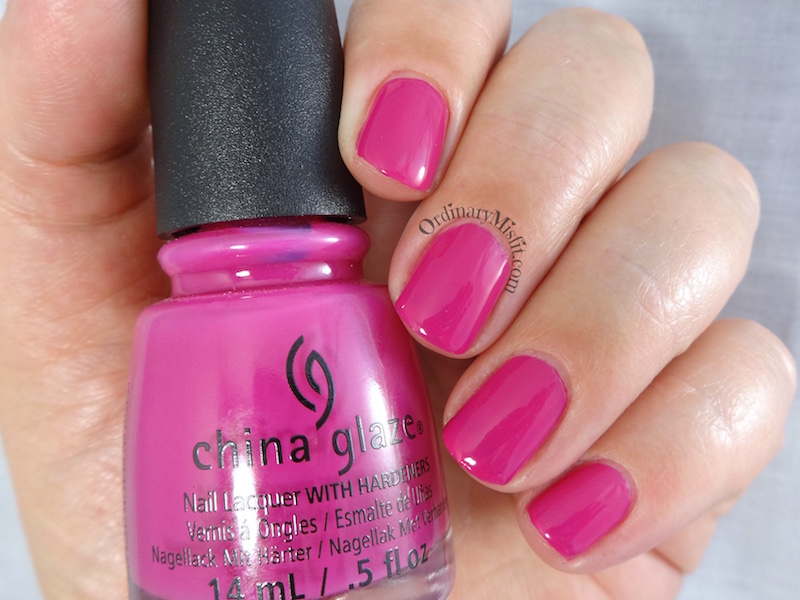 China Glaze - In the near fuchsia 2