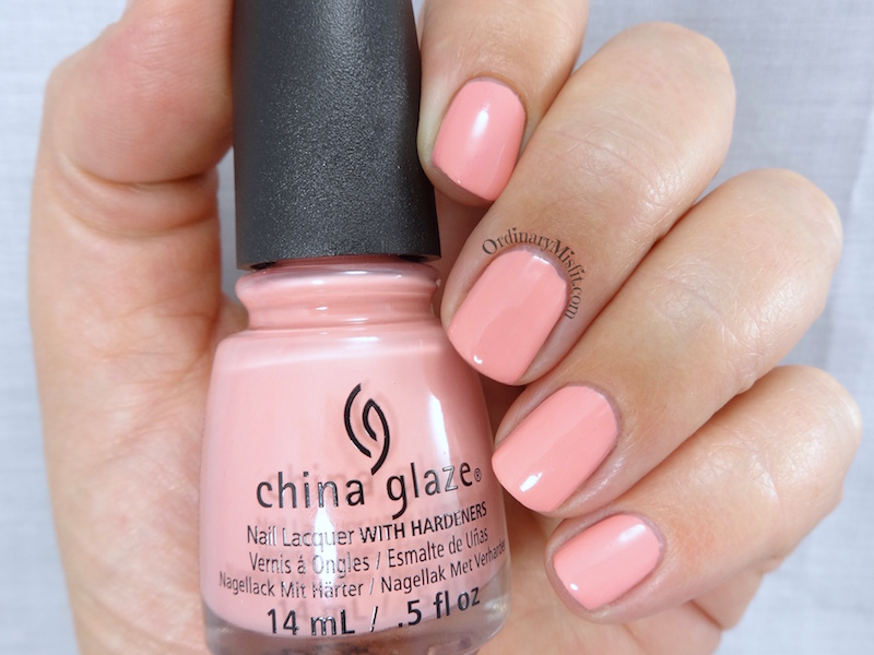 China Glaze - Pink or swim 2