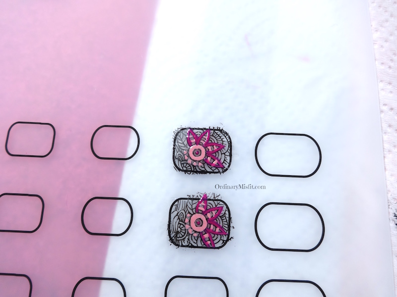 NailCandi review - MoYou magic workshop stamping mat decal