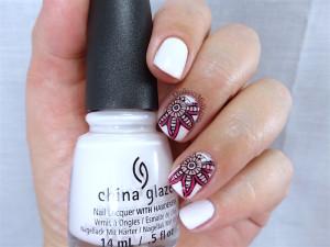 NailCandi review - MoYou magic workshop stamping mat nail art