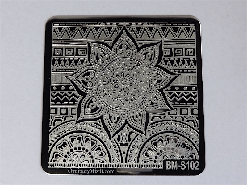 Bundle Monster Shangri la stamping plates BM-S102