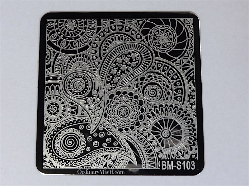 Bundle Monster Shangri la stamping plates BM-S103