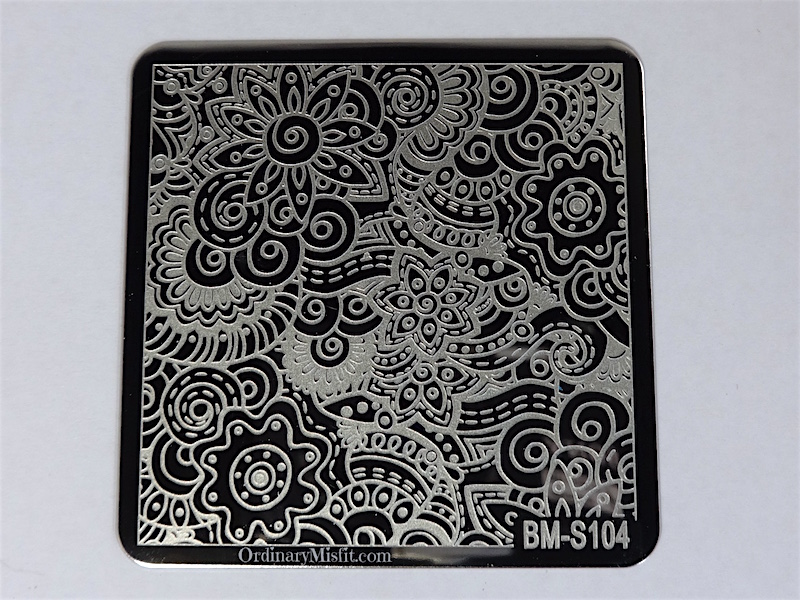 Bundle Monster Shangri la stamping plates BM-S104