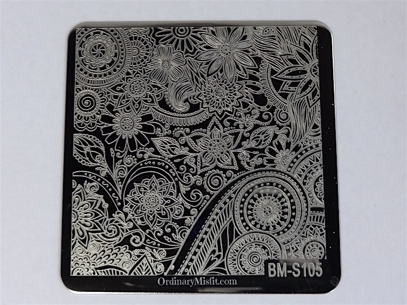Bundle Monster Shangri la stamping plates BM-S105