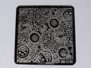 Bundle Monster Shangri la stamping plates BM-S106