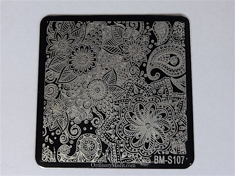 Bundle Monster Shangri la stamping plates BM-S107