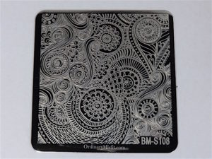 Bundle Monster Shangri la stamping plates BM-S108