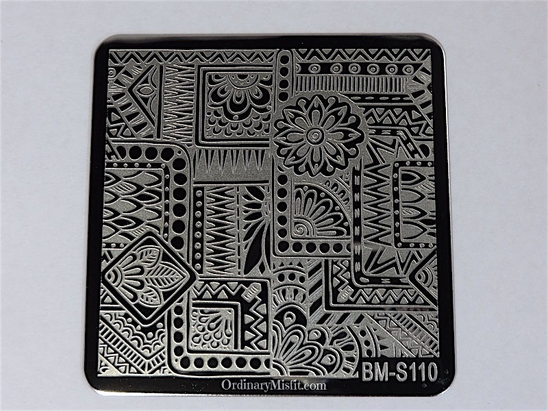 Bundle Monster Shangri la stamping plates BM-S110