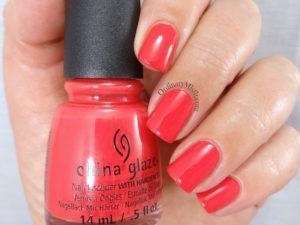 China Glaze - Hot flash