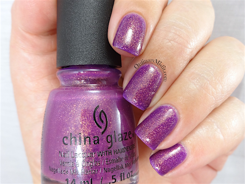 China Glaze - We got the beet
