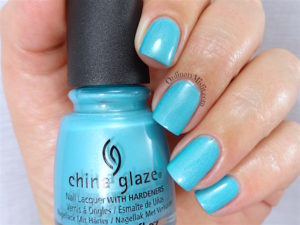 China Glaze - What I like about blue