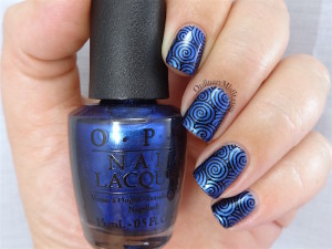 NAILLinkup metallic blue