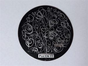 Pueen Buffet leisure stamping plates pueen77